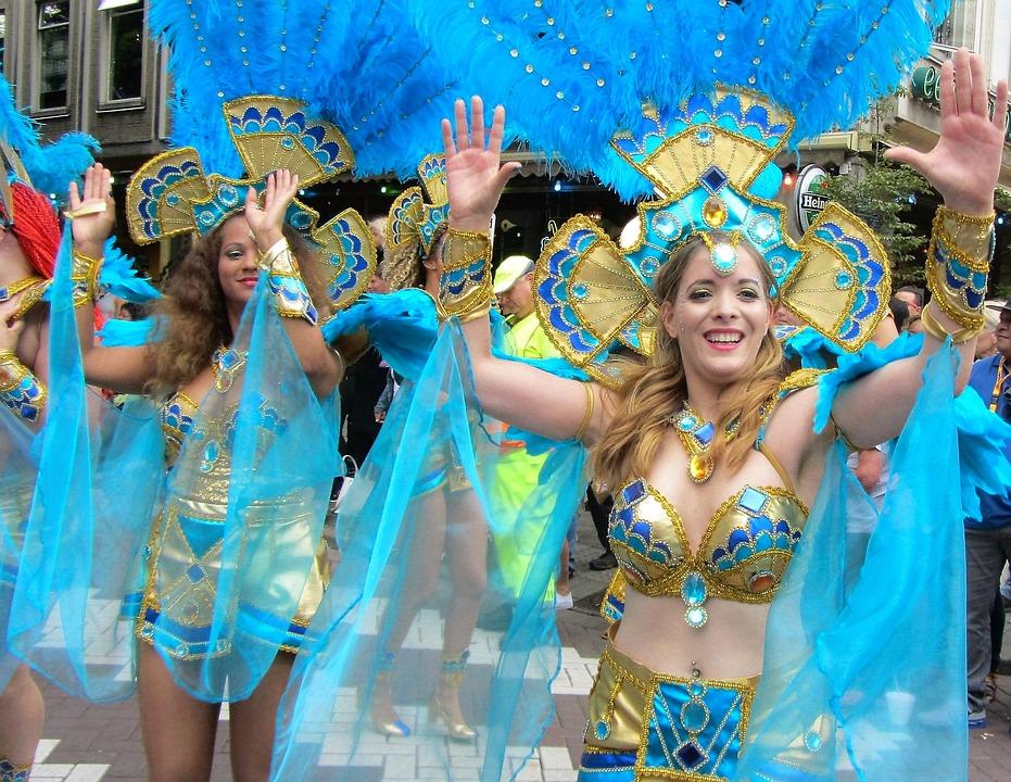 Party, Happy, Beautiful Woman, Parade, Fun, Beautiful