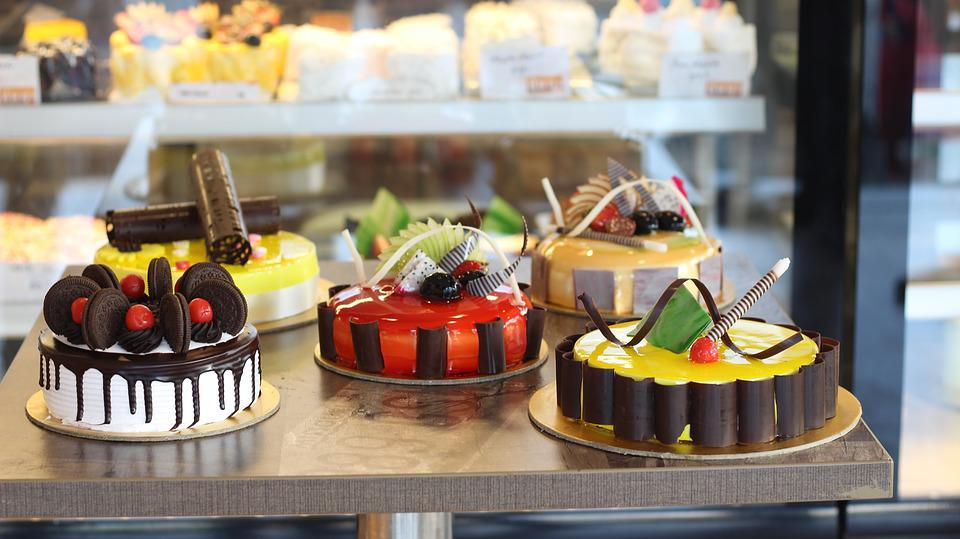 Food, Cake, Delicious, Sugar, Restaurant, Candle, Party