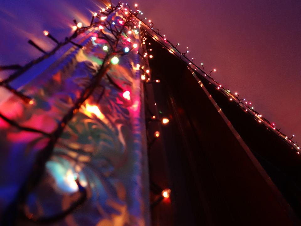 Party, Christmas, Lights