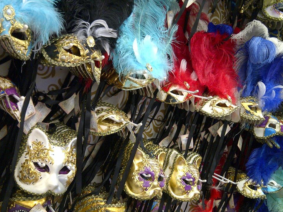 Carnival, Masks, Mask, Party, Costume, Festival