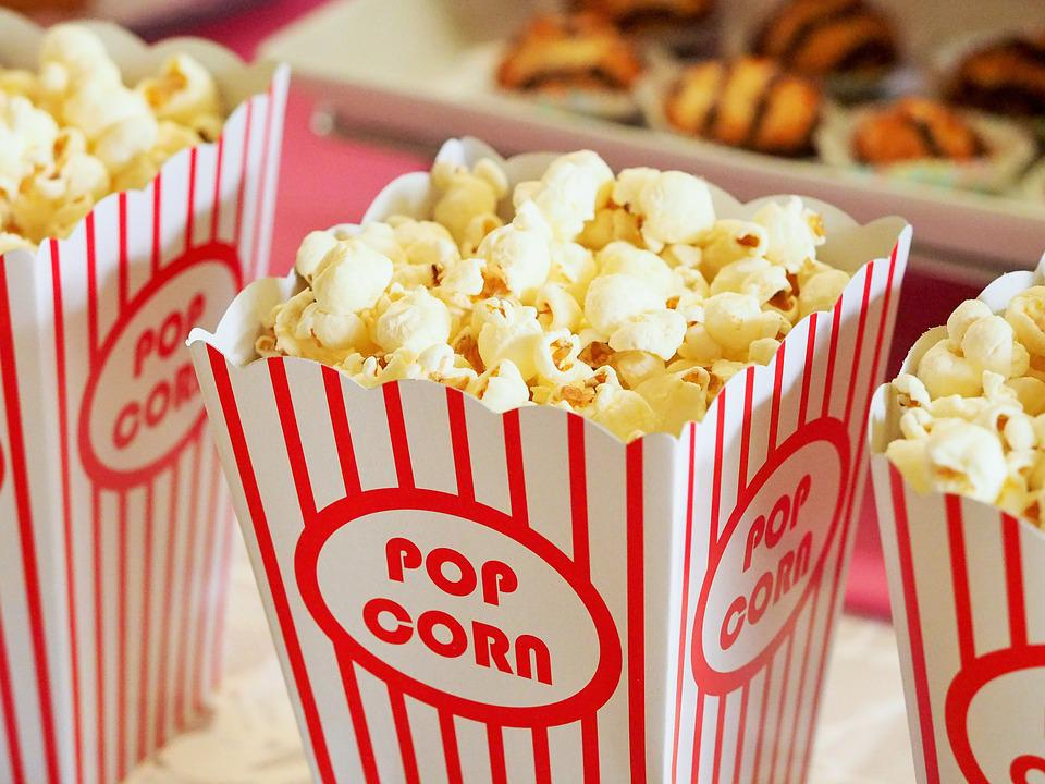 Popcorn, Movie, Party, Entertainment, Food, Corn