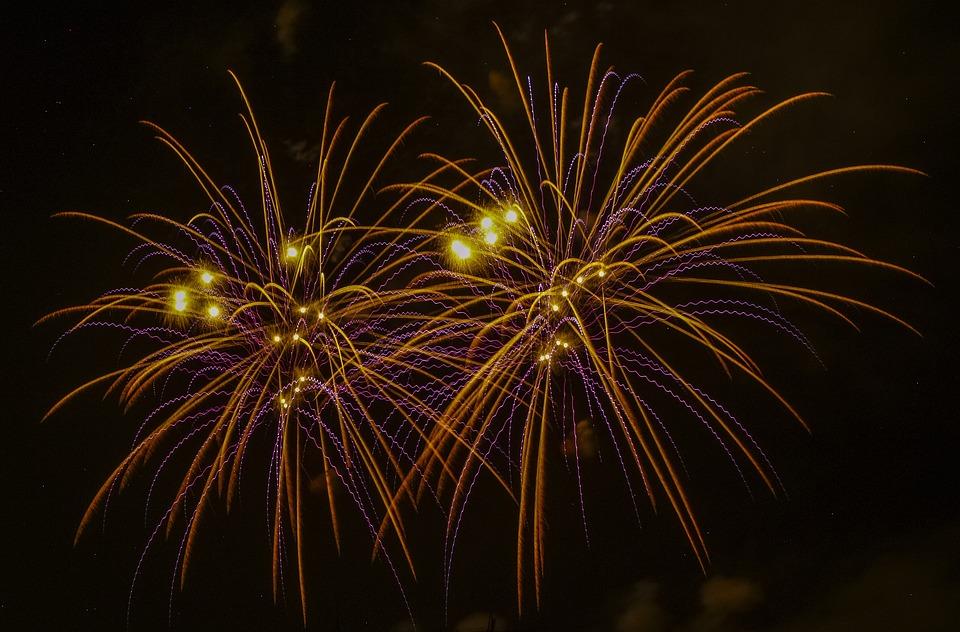 Fireworks, Flame, Celebration, Explosion, Party