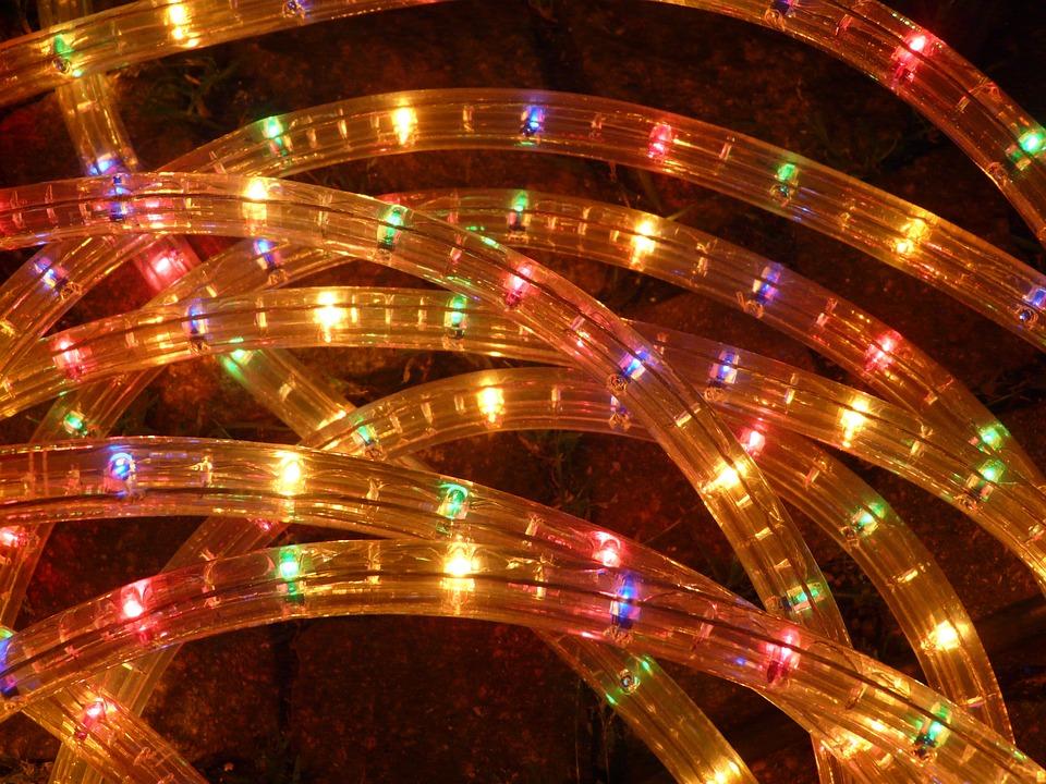 Lichterkette, Lights, Light, Party, Lamp, Plastic