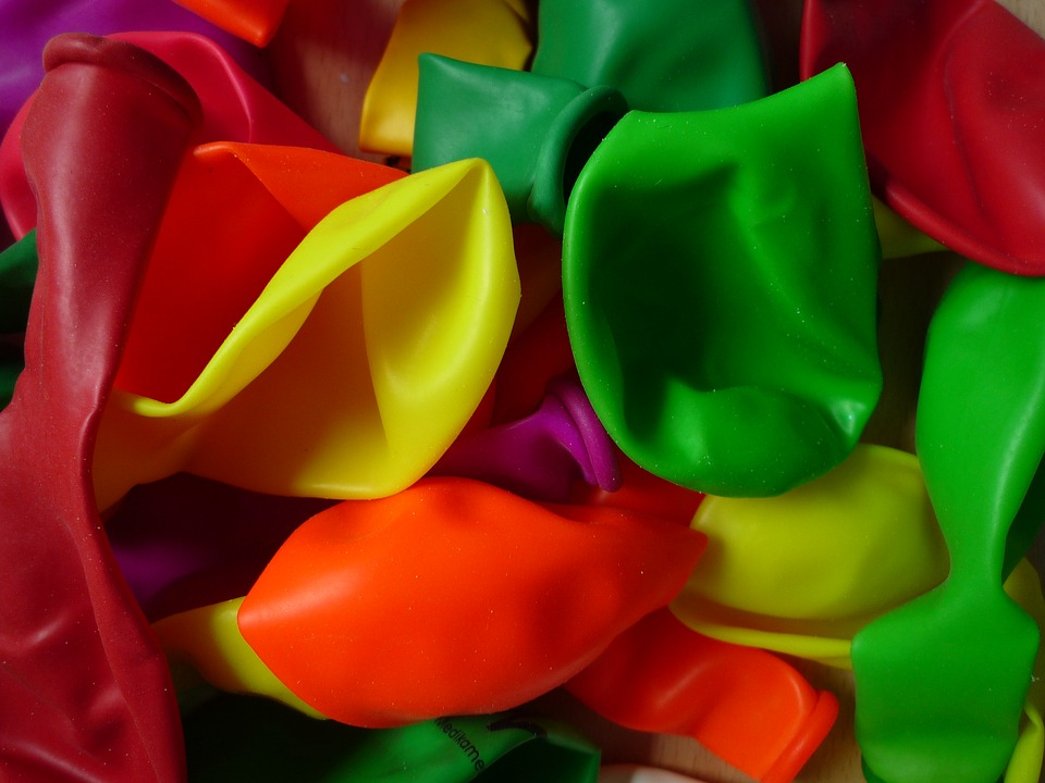 Ballons, Close, Colorful, Color, Macro, Neon, Party