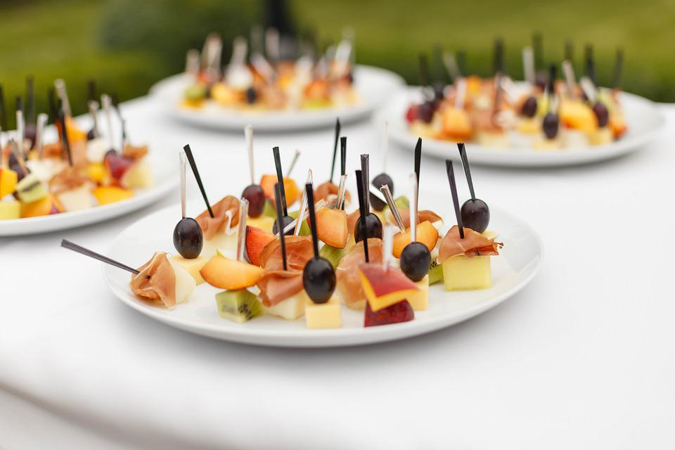 Snack, Plate, Canapes, Party, Table, Festive, Wedding
