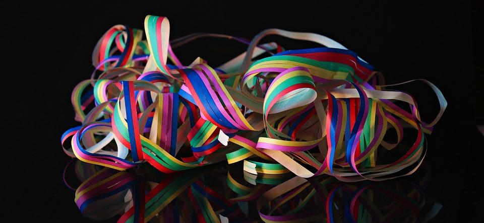 Streamer, Carnival, Party, Colorful, Fun, Deco