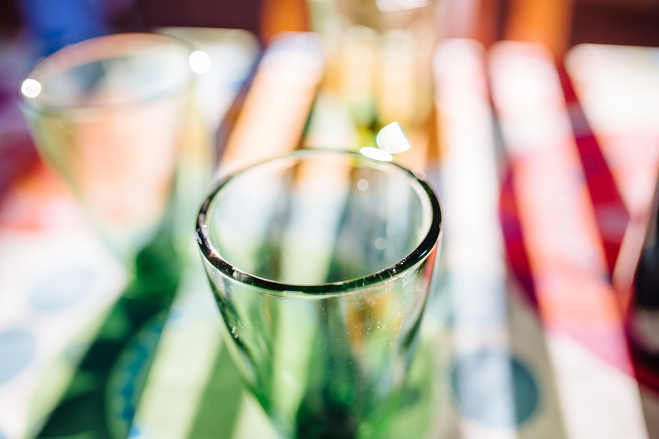 Glasses, Drinks, Beverages, Table, Restaurant, Party