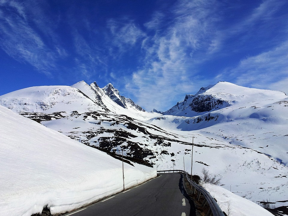 Jostedalsbreen National Park, Pass Road, Pass, Road