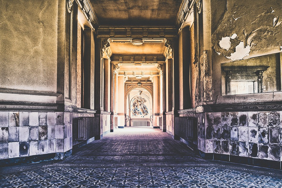 Floor, Corridor, Gang, Architecture, Passage, Interior