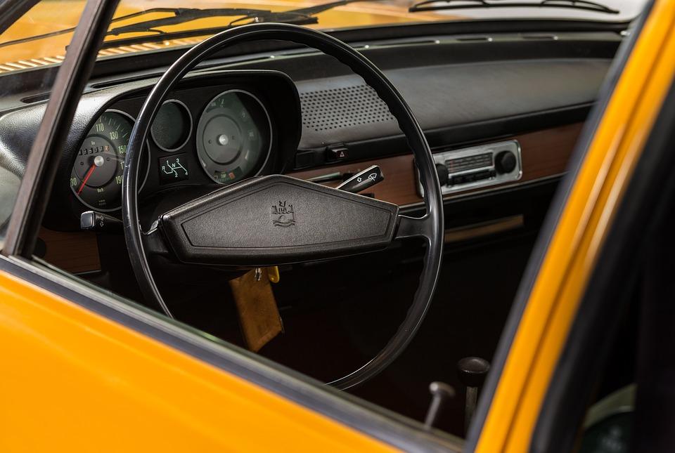 Volkswagen, Passat, Interior, Classic, Car