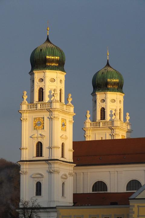 Passau, Dom, Church, House Of Worship, Building
