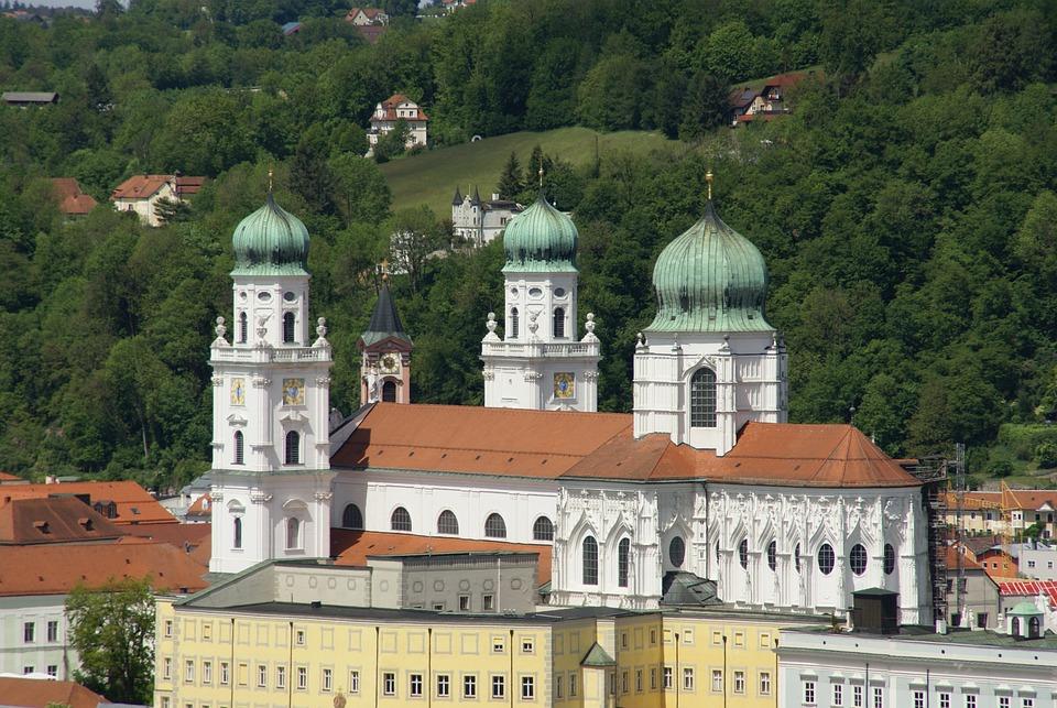 Sankt Stephan, Dom, Passau, City Of Three Rivers