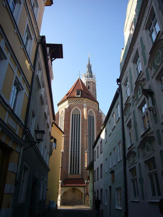 Passau, Church, Old Town