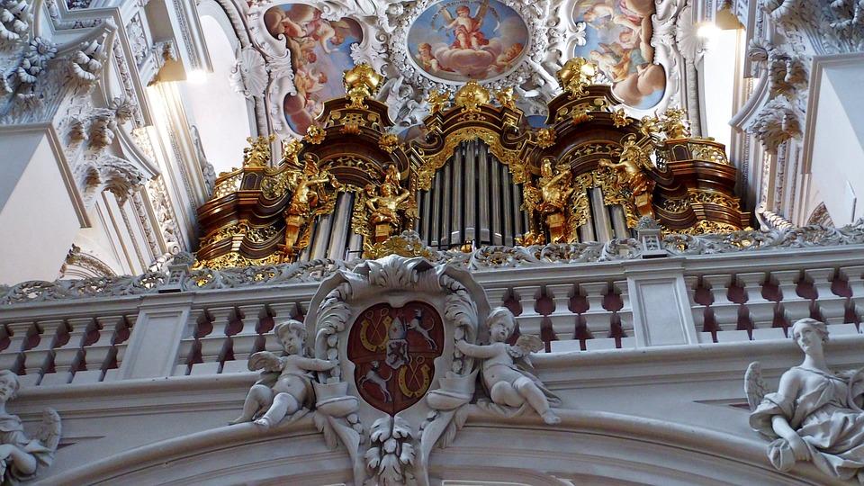 Organ Whistle, Organ, Church, Church Organ, Passau, Dom