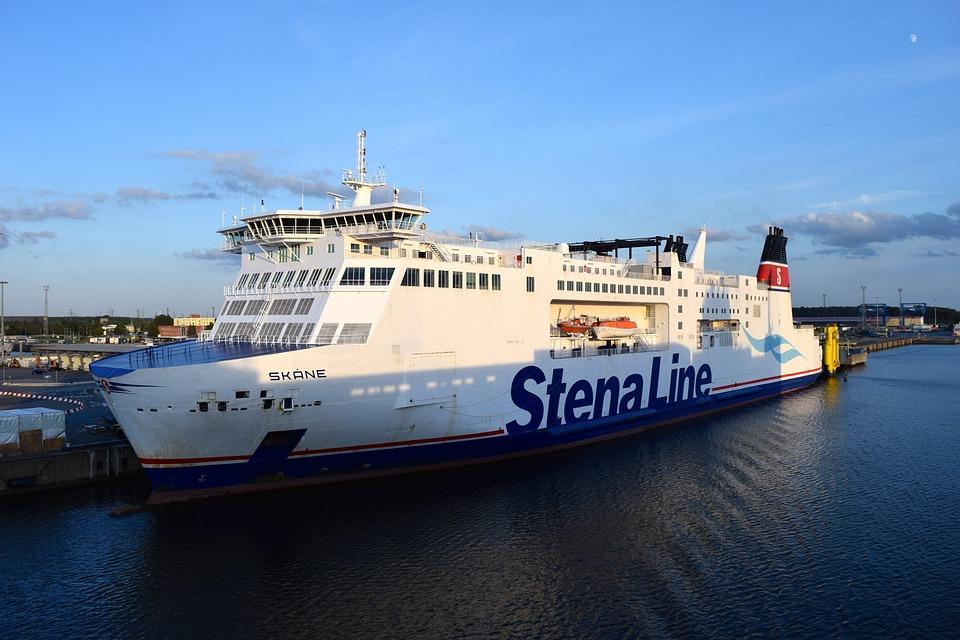 Ship, Ferry, Baltic Sea, Lake, Passenger Ship, Travel