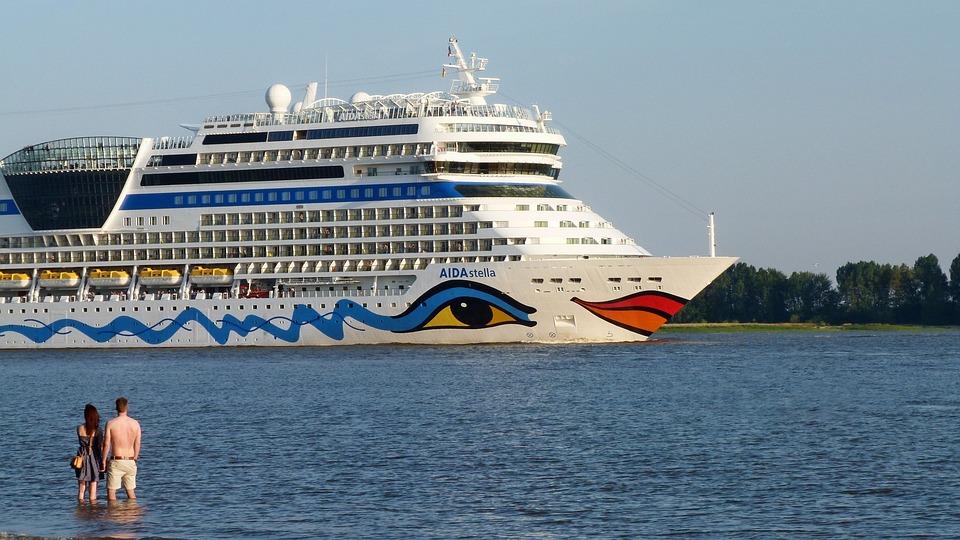 Cruise Ship, Elbe, Passenger Ship, Travel, Melancholy