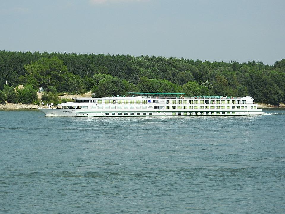 Danube, Ship, Passenger Ship, Shipping, Beethoven