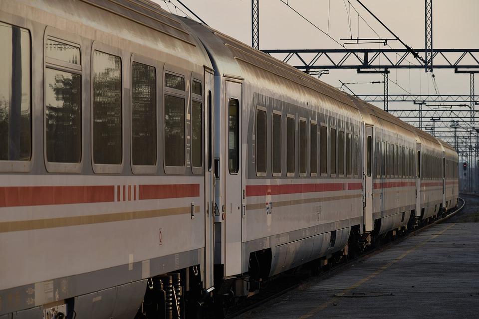 Passenger Train, Wagons, Railway, Transport, Travel