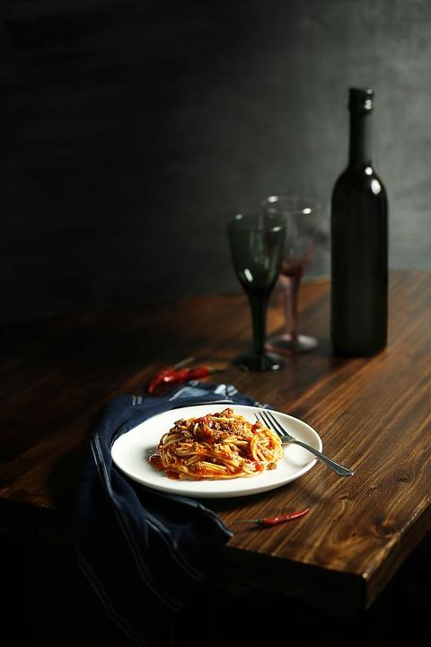 Pasta, Lunch, Breakfast, Dinner, Wine, Alcohol