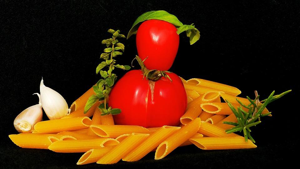 Pasta Pomodoro, Tomato, Noodle Dish, Wild Growth, Males