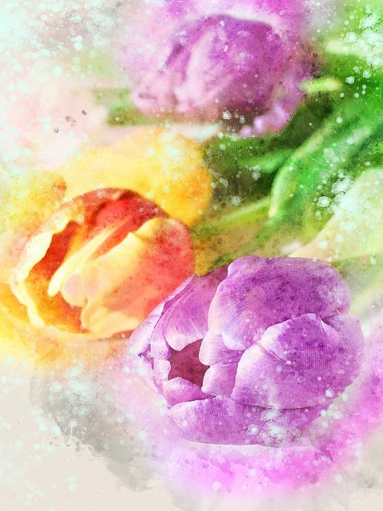 Flower, Desktop, Summer, Color, Nature, Pastel, Bright