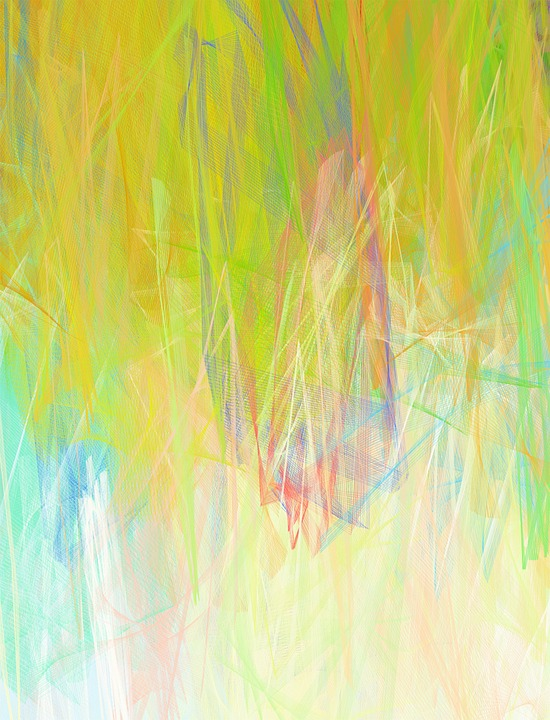 Abstract, Background, Painting, Pastel