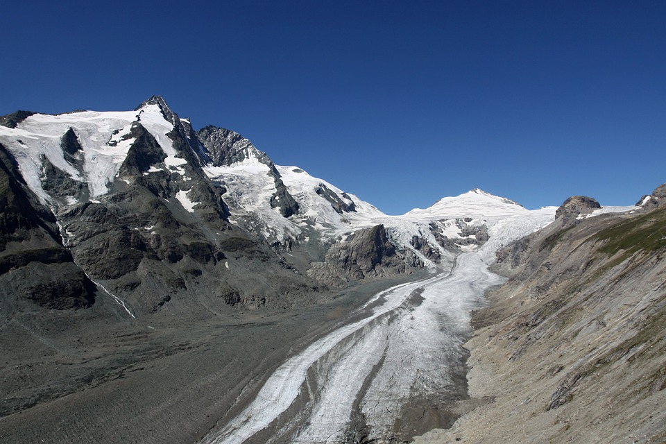 Großglockner, Glacier, Pasterze, Alps, Mountains