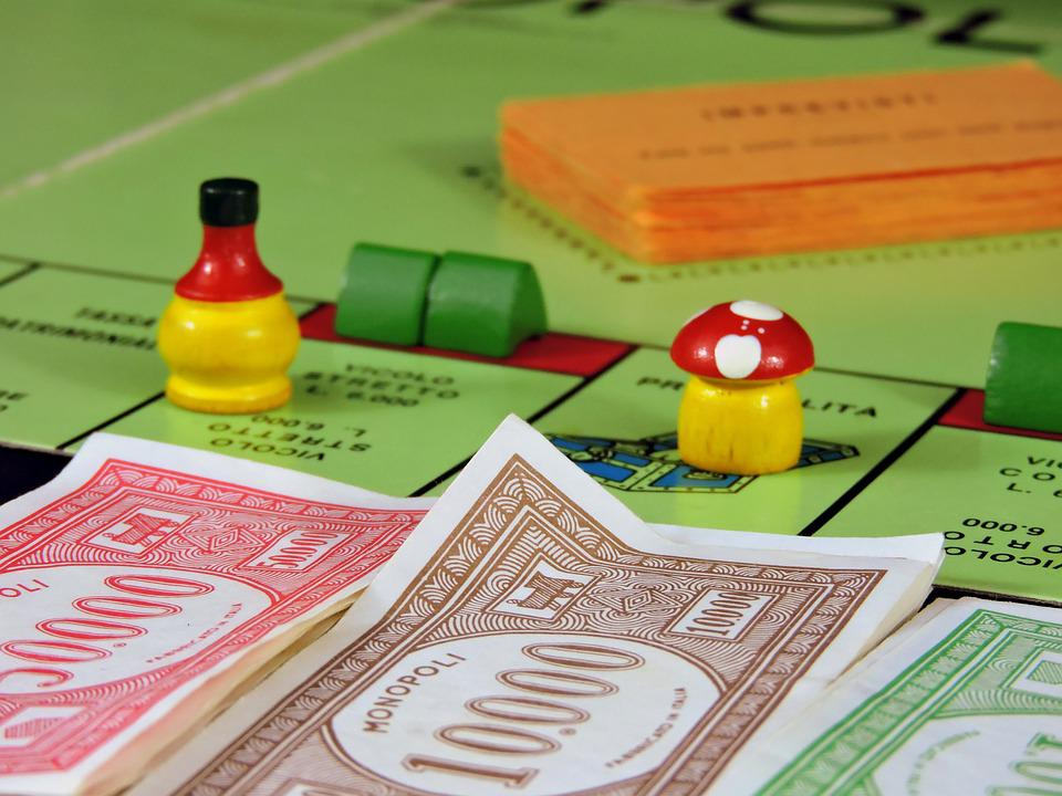 Play, Board Game, Monopoly, Money, Trade, Pastime