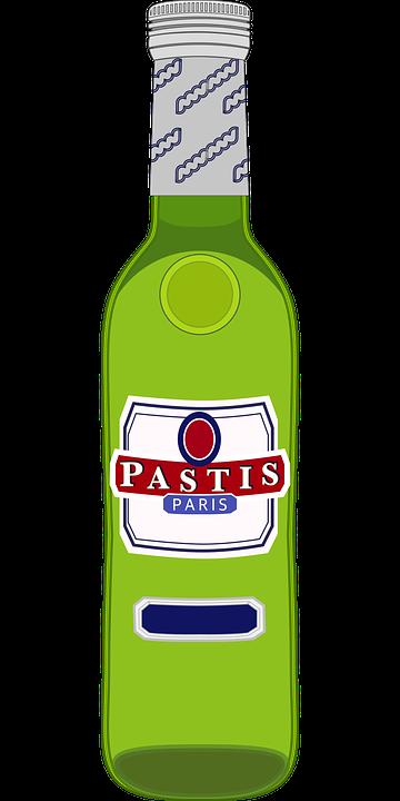 Graphic, Pastis, Pastis Bottle, Pernod, Ricard