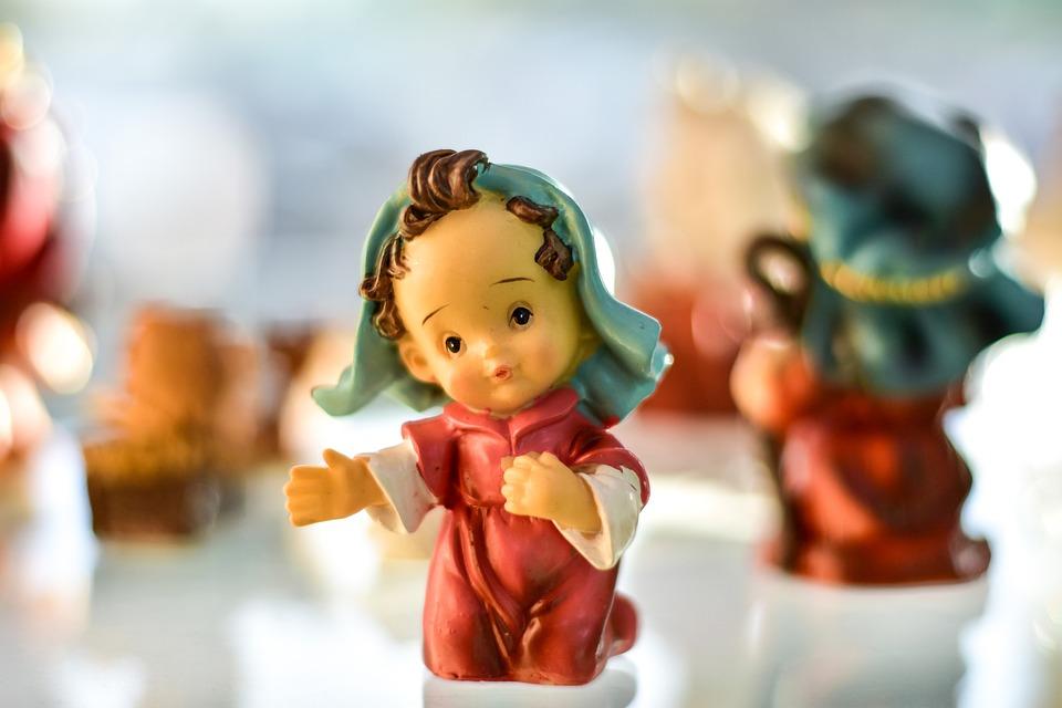 Pastor, Ceramic, Decoration, Cute