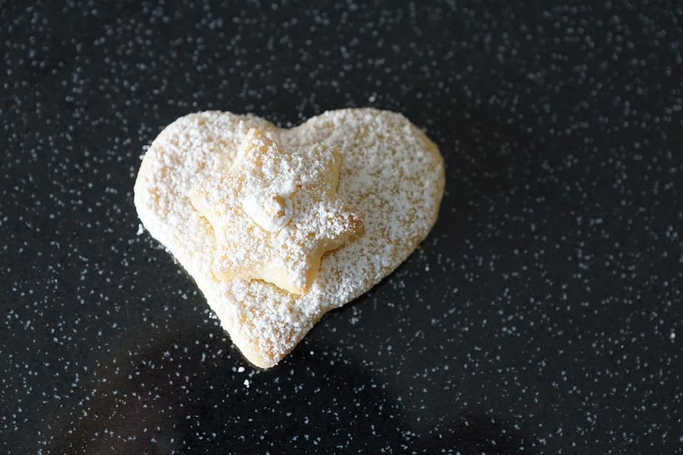 Heart, Cookie, Love, Pastries, Bake