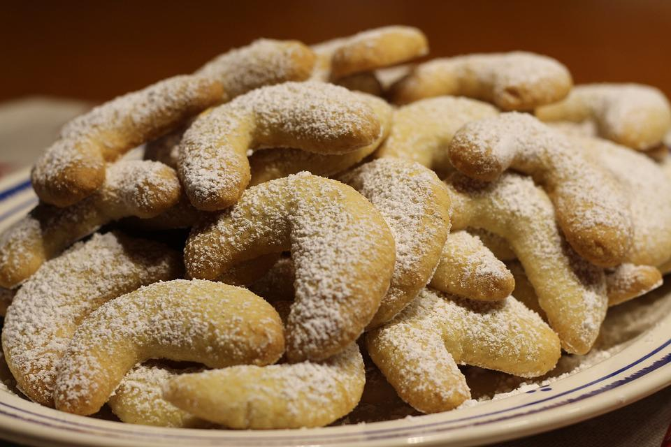 Christmas Cookies, Pastries, Delicacy, Even Baked, Bake