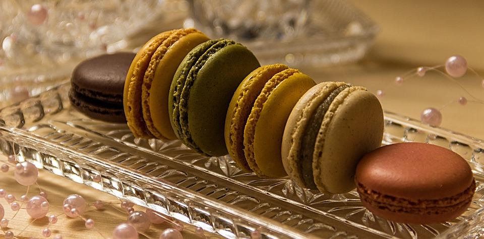 Macarons, Cookies, Pastries, Sweetness, Double Biscuits