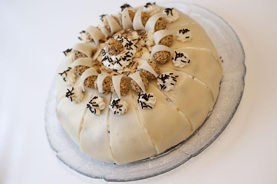 Cake, Marzipan, Celebration, Pastries, Delicious