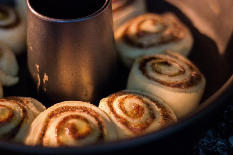 Cinnamon Rolls, Bake, Bread, Food, Baking, Pastry