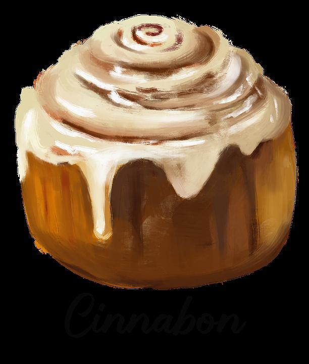 Cinnabon, Cinnamon Roll, Dessert, Pastry, Baked Goods