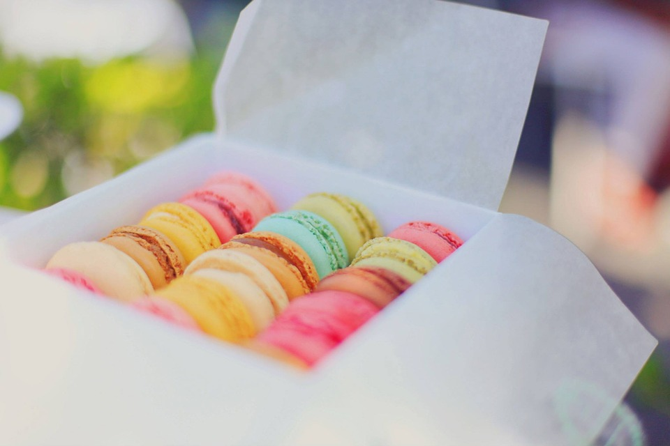 Macaroons, Colorful, Dessert, Food, French, Pastry