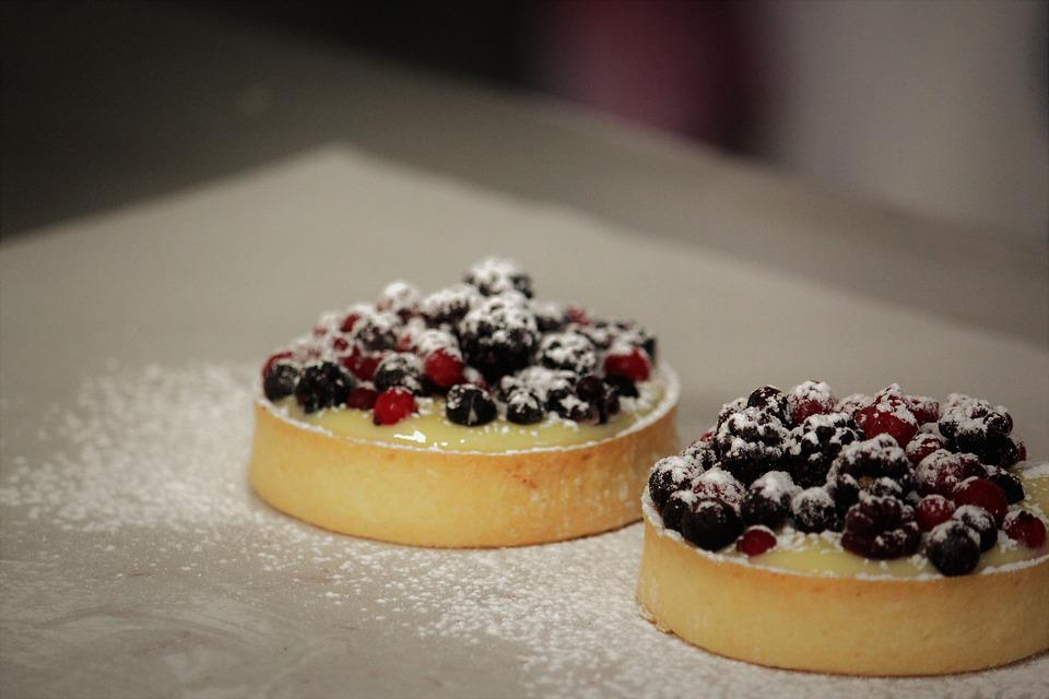 Pastry, Soft Fruits, Cupcakes