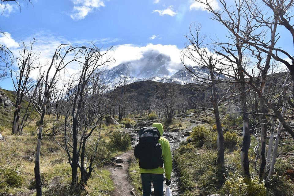 Patagonia, Torres Del Paine, National Park, Hiking