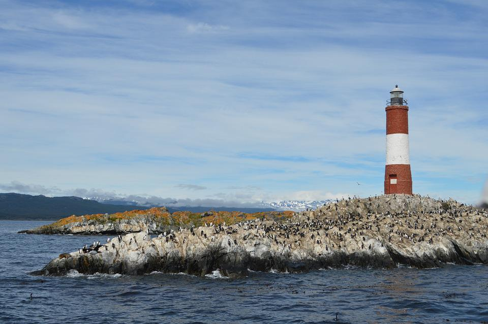 Patagonia, Lighthouse End Of World, Island, Isolated