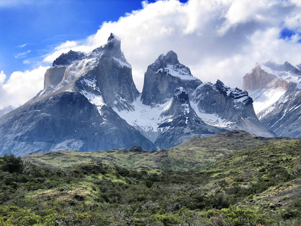 Torres Del Paine, South America, Mountains, Patagonia