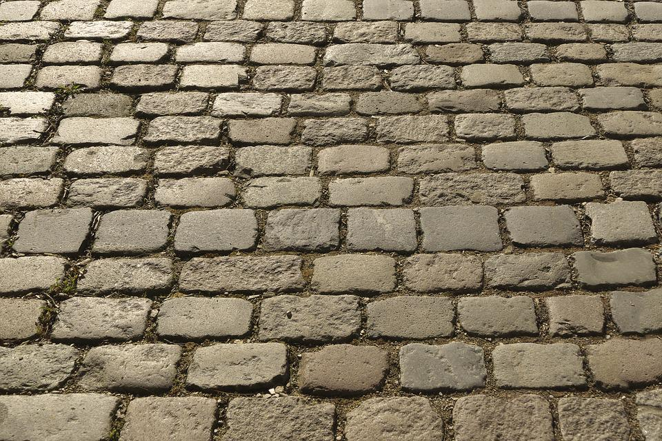 Cobblestones, Paving Stones, Historically, Patch, Paved