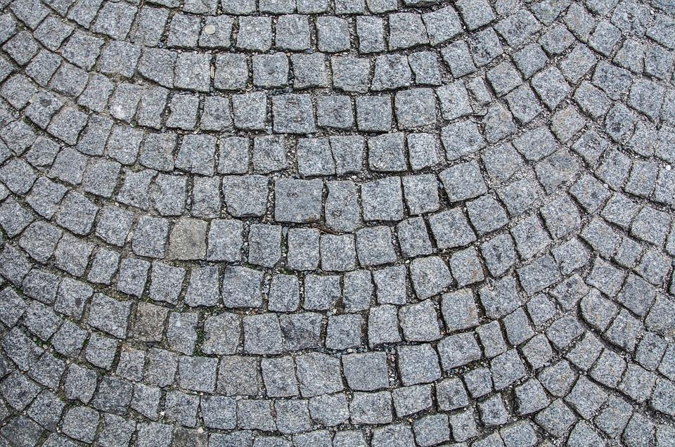 Cobblestones, Patch, Road, Background, Paving Stones