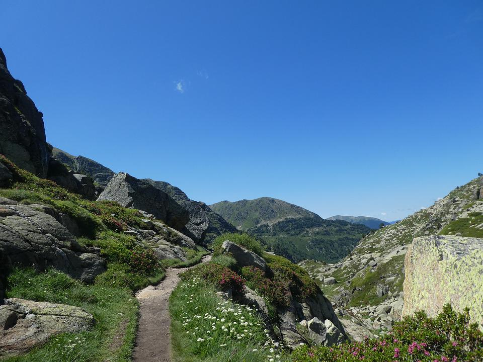 Path, Mountain, Landscape, Andorra
