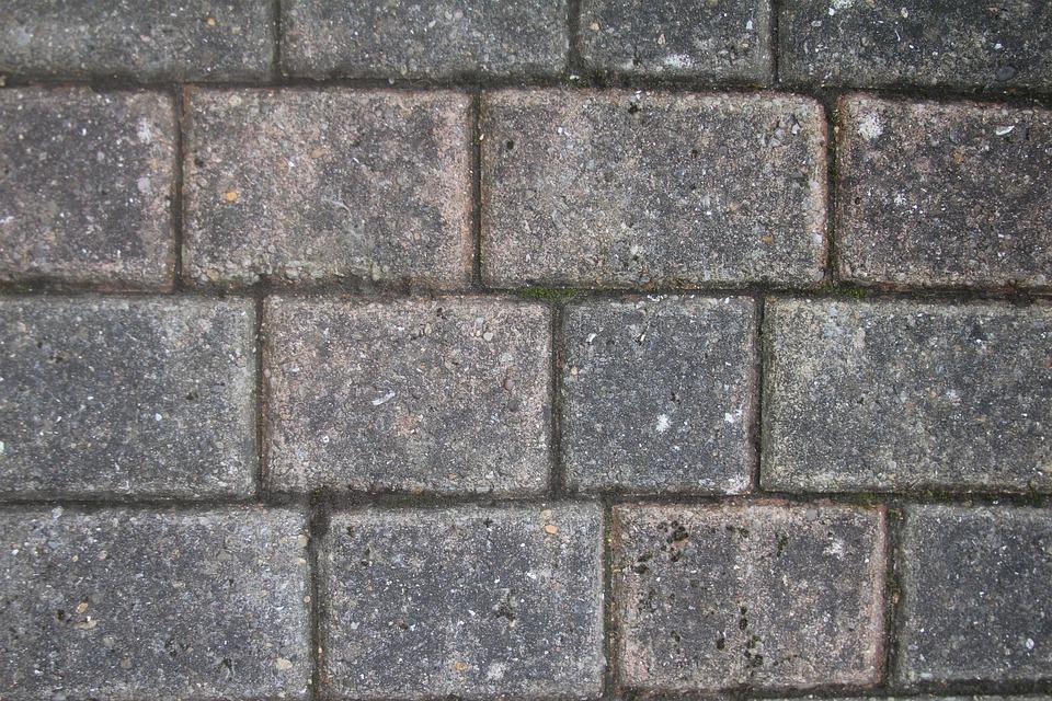Background, Brick, Path, Weathered, Wall, Stone