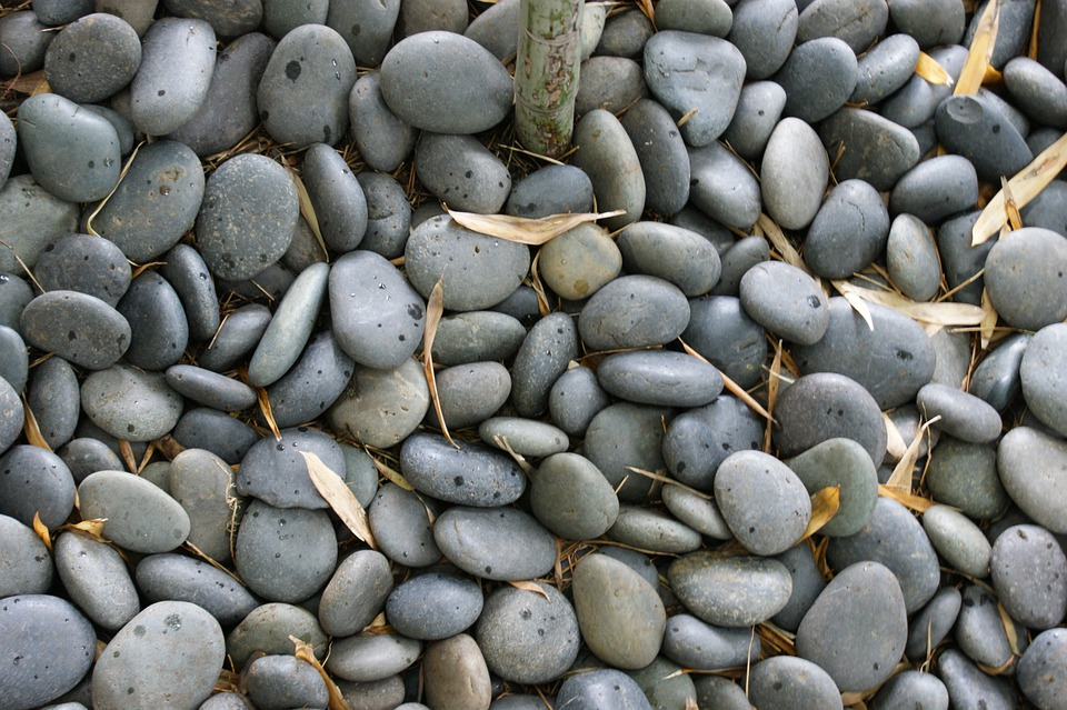 Rocks, Pebbles, Gray, Ground, Pathway, Nature