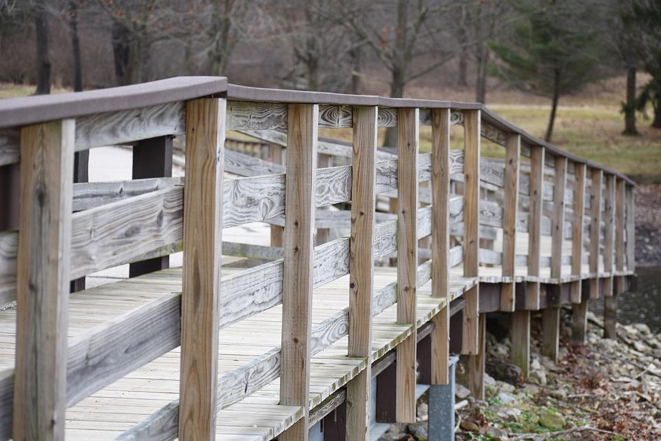 Bridge, Path, Pathway, Transition, Trail, Walk, Nature