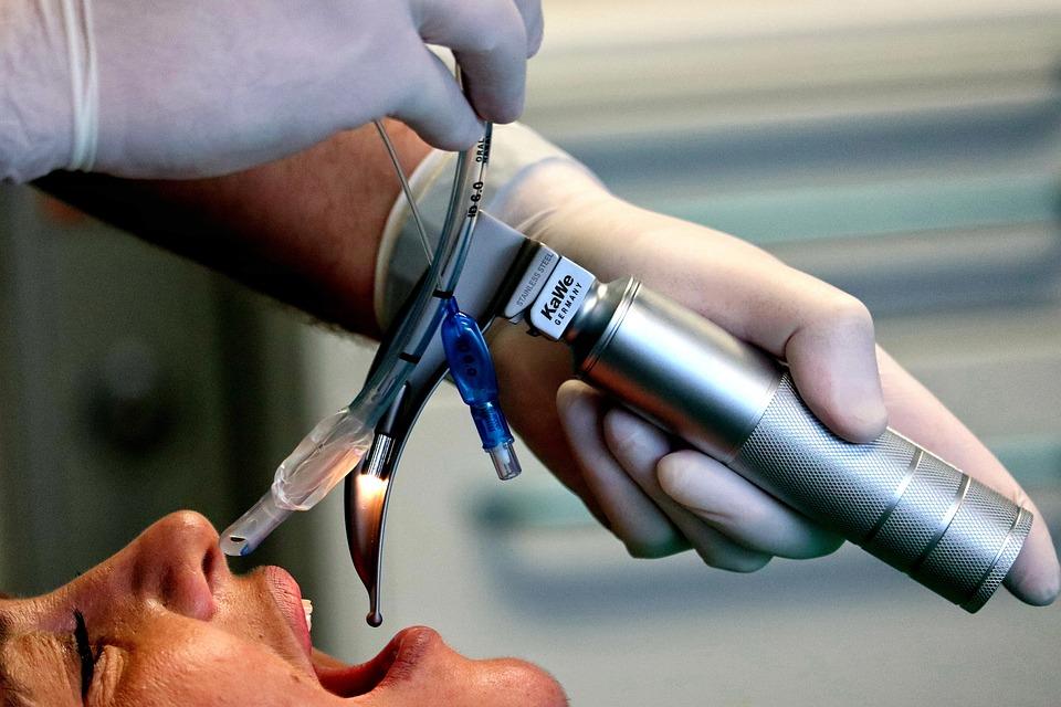 Medical, Intubation, Doctor, Patient
