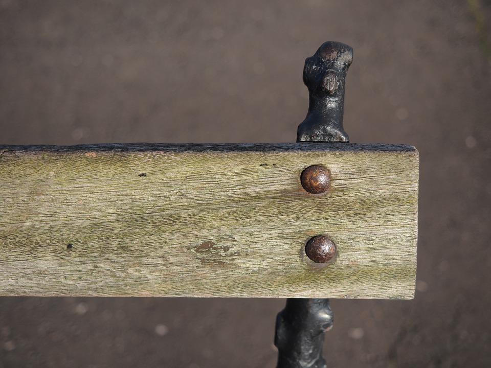 Old, Bench, Wood, Grain, Rust, Wooden, Rustic, Patina