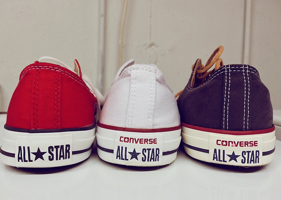 Size Chart Converse Shoes: Free photo Patriotic Chucks Sneakers White Red Blue Converse - Max ,Chart